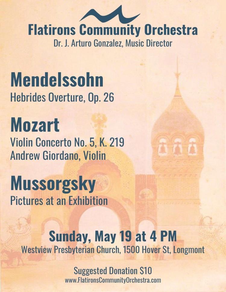 2019-05-19 Concert Flyer